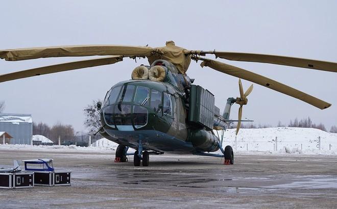 """Ukraine tái biên chế trực thăng tác chiến điện tử thuộc """"hàng độc"""" trên thế giới"""