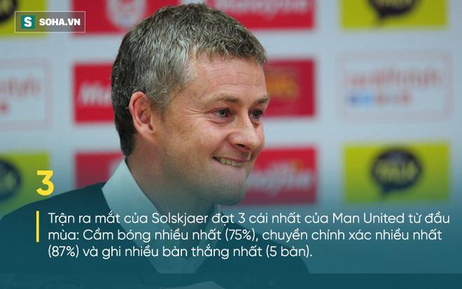 Solskjaer vượt qua hàng loạt thành tích của Mourinho trong ngày ra mắt Man United - Ảnh 7.