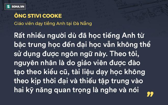 GS Nguyễn Tiến Dũng: Học tiếng Anh kiểu mì ăn liền và nỗi lo tàn tật, ngọng - Ảnh 3.