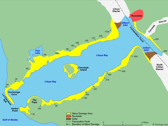 Siêu sóng thần khủng khiếp nhất lịch sử nhân loại: Cao 524m, cuốn phăng hàng triệu cây cối - Ảnh 3.
