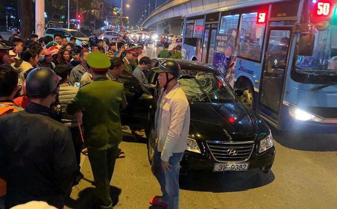 Danh tính hai bà bầu bị đâm nhập viện trong vụ xe Hyundai gây tai nạn liên hoàn ở Hà Nội