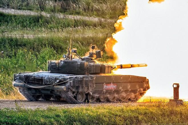 [ẢNH] Chiến tăng bay T-80BVM Nga trang bị đạn Uranium nguy hiểm cỡ nào? - Ảnh 10.