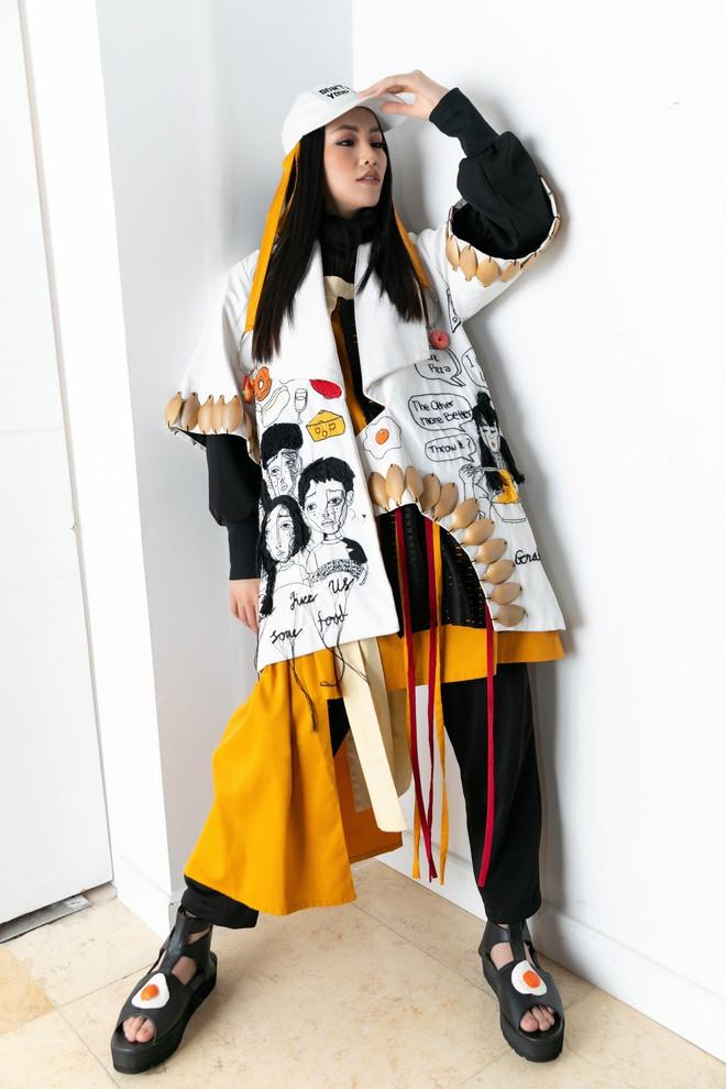 Hoa hậu Trái đất Phương Khánh xuất hiện xinh đẹp, cá tính khi làm vedette - Ảnh 7.