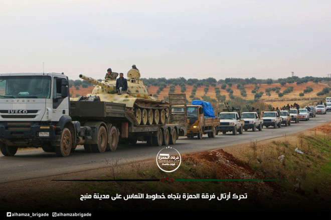 Xe tăng, đạn pháo Thổ Nhĩ Kỳ rầm rập áp sát Syria: Chờ giờ nổ súng - Ảnh 4.