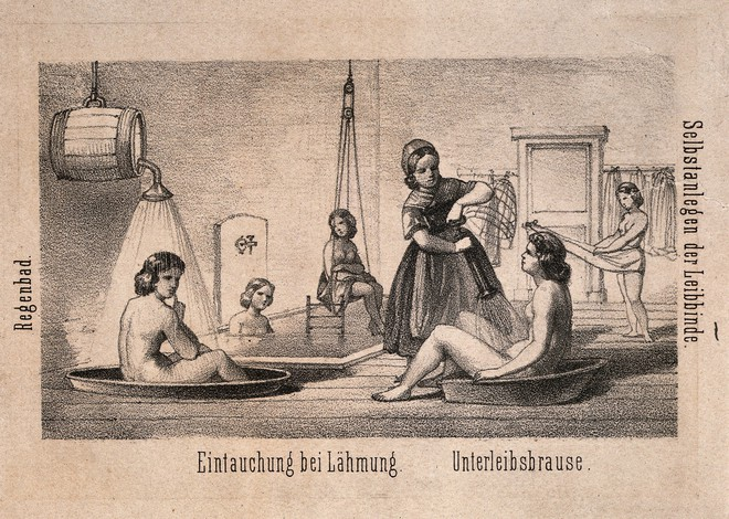Chuyện đi tắm cũng có lịch sử đen tối: Được sử dụng như một kiểu tra tấn để chữa bệnh tâm thần - Ảnh 4.