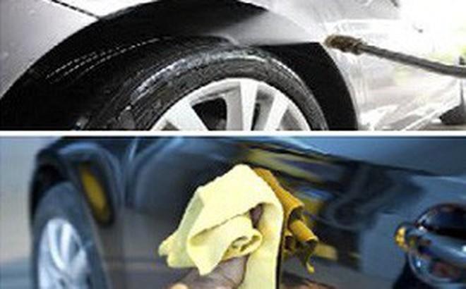 Cách giúp lớp sơn của ô tô luôn mới và sáng bóng theo năm tháng