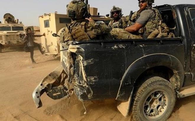 Quân đội Syria bất ngờ bị liên quân Mỹ đánh úp ở Homs
