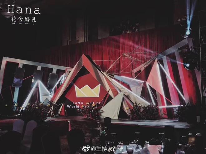 Khi cô dâu và chú rể đều là fan Big Bang: Sân khấu ngập tràn sắc vàng, hoa cưới cũng chính là lightstick - Ảnh 3.