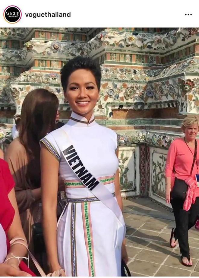 HHen Niê gây chú ý với truyền thông Thái Lan khi chinh chiến tại Miss Universe 2018 - Ảnh 3.