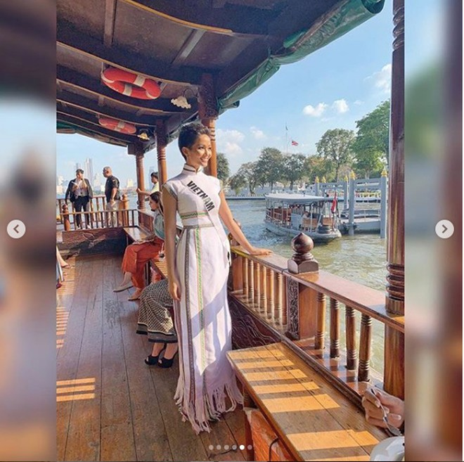 HHen Niê gây chú ý với truyền thông Thái Lan khi chinh chiến tại Miss Universe 2018 - Ảnh 6.
