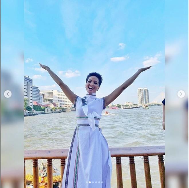 HHen Niê gây chú ý với truyền thông Thái Lan khi chinh chiến tại Miss Universe 2018 - Ảnh 4.