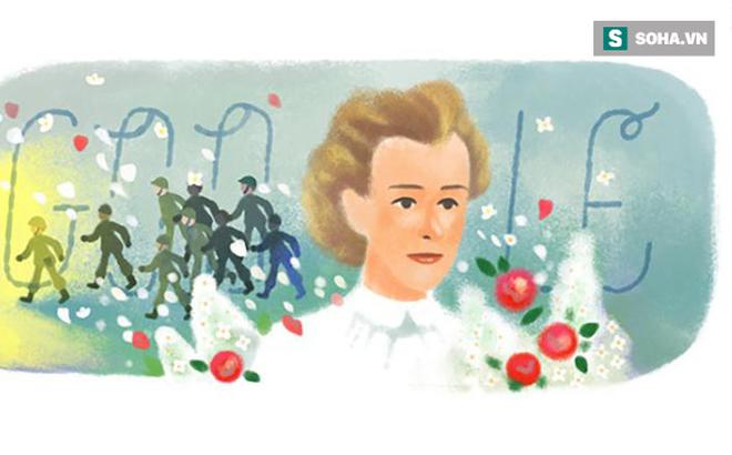 Trang chủ Google 4/12 vinh danh Edith Cavell - Nữ y tá anh hùng thời Thế chiến I