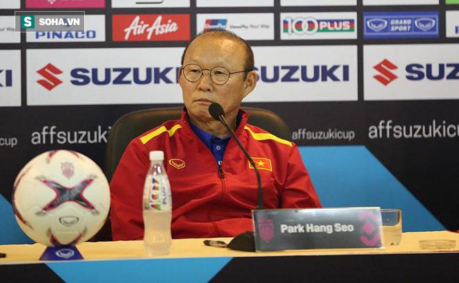HLV Park Hang-seo thừa nhận đang run vì áp lực, luôn nhớ tới ám ảnh năm 2014 tại Mỹ Đình - Ảnh 1.