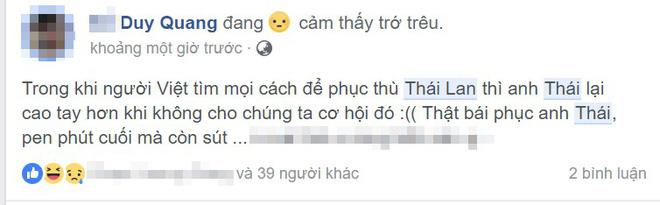 Thái Lan dừng chân ở bán kết, CDM Việt thi nhau tiếc nuối vì không được xem màn phục thù lịch sử - Ảnh 2.