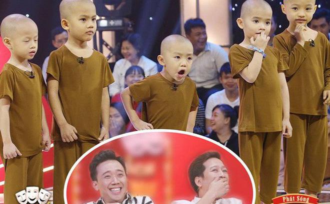 Trấn Thành - Trường Giang cười nghiêng ngả, 5 cậu bé bị bỏ rơi giành 100 triệu