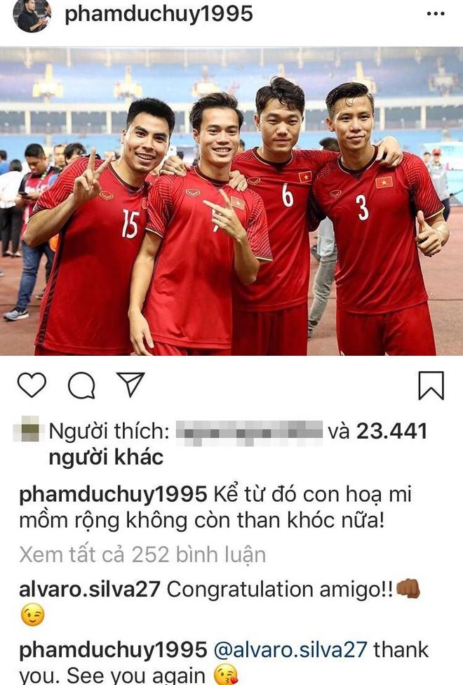 Trước giờ sang Malaysia, các cầu thủ Việt Nam đăng gì lên mạng xã hội? - Ảnh 4.