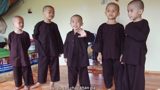 Cuộc sống của 5 chú tiểu bị bỏ rơi, khuất phục Trấn Thành - Trường Giang để thắng 100 triệu  - Ảnh 7.