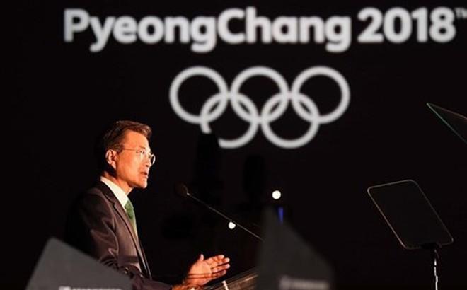 Lãnh đạo Hàn Quốc tin tưởng Thế vận hội khởi đầu cho hòa bình thế giới