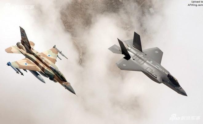 F-16 bị hạ, KQ Israel cấp tốc tung át chủ bài tiêm kích tàng hình F-35I Adir tham chiến? - Ảnh 1.