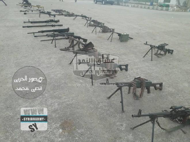 Quân đội Syria thu giữ lượng vũ khí sát thủ khổng lồ của IS: Nga, Mỹ đủ cả - Ảnh 11.