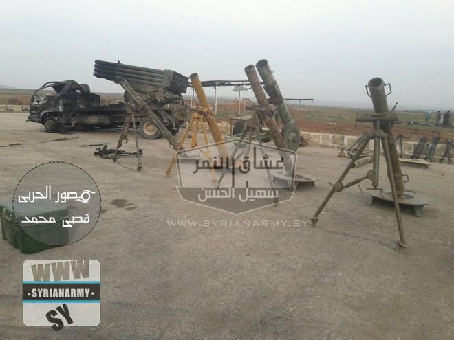 Quân đội Syria thu giữ lượng vũ khí sát thủ khổng lồ của IS: Nga, Mỹ đủ cả - Ảnh 10.