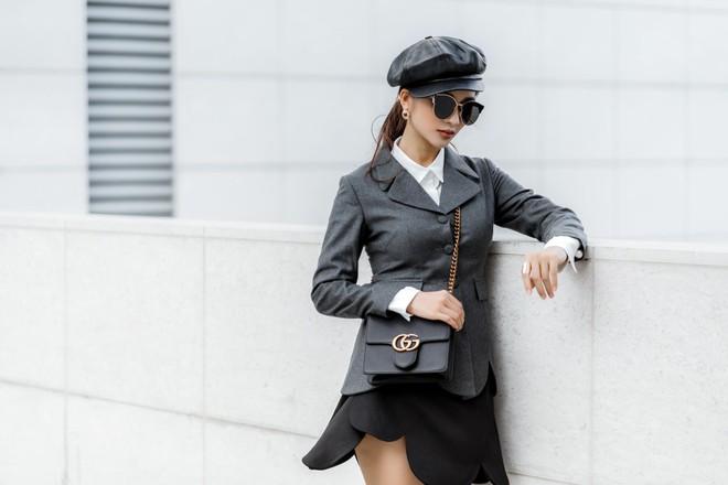Kim Tuyến ăn mặc quyến rũ, sang chảnh đi dạo phố dịp cuối năm - Ảnh 13.