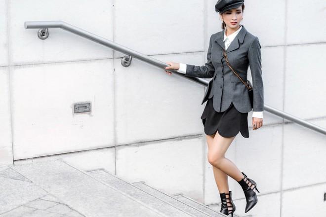 Kim Tuyến ăn mặc quyến rũ, sang chảnh đi dạo phố dịp cuối năm - Ảnh 12.