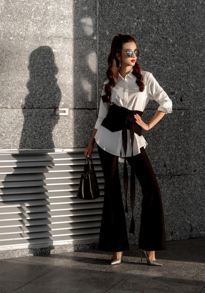 Kim Tuyến ăn mặc quyến rũ, sang chảnh đi dạo phố dịp cuối năm - Ảnh 11.