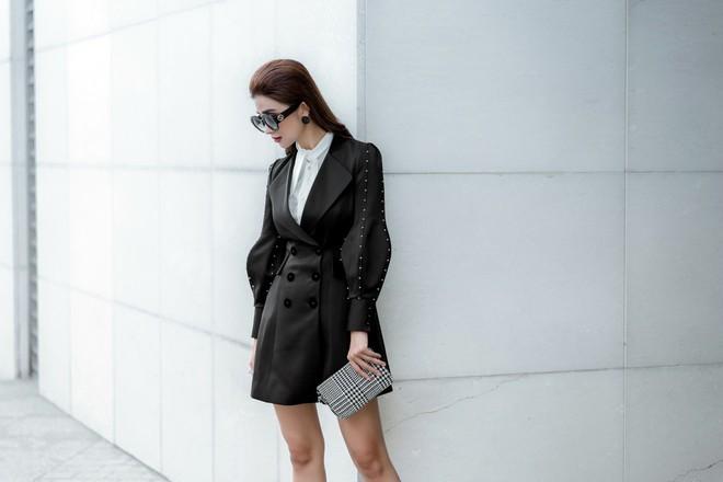 Kim Tuyến ăn mặc quyến rũ, sang chảnh đi dạo phố dịp cuối năm - Ảnh 9.