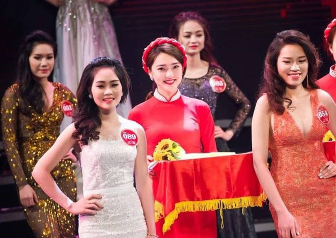 Nổi trên mạng nhờ 1 bức ảnh, cô gái Nghệ An bỗng vụt sáng thành Hoa hậu - Ảnh 1.