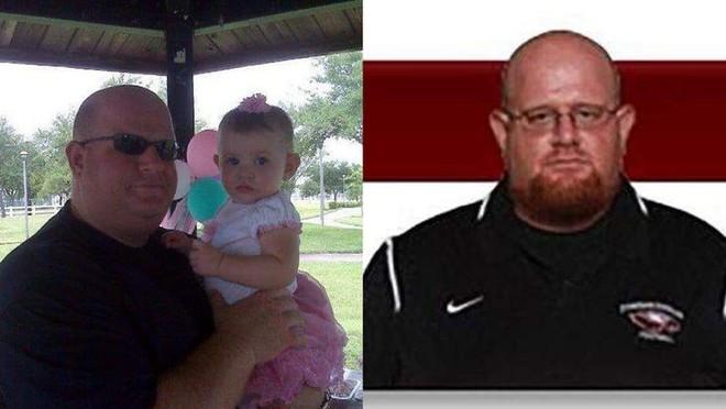 Người thầy giáo anh hùng trong vụ xả súng đẫm máu Florida, lấy thân mình che chắn cho học sinh khỏi đường đạn tử thần - Ảnh 1.