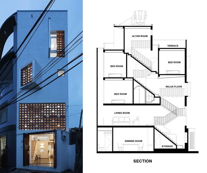 Báo Mỹ viết về ngôi nhà siêu hẹp, siêu méo nhưng đẹp như kiệt tác kiến trúc ở Sài Gòn - Ảnh 2.