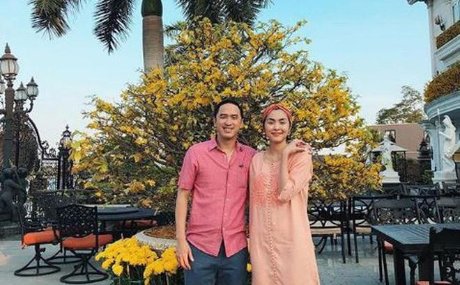 Tăng Thanh Hà khoe ảnh hạnh phúc bên chồng, lộ rõ vòng hai giữa nghi vấn mang thai lần 3