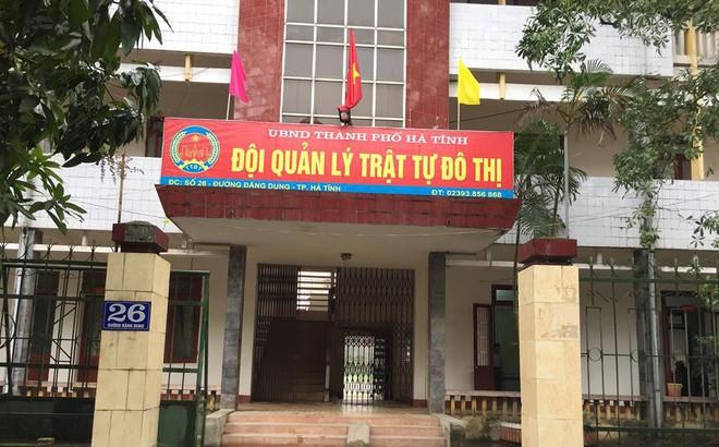 Hàng loạt nhân viên Đội Quản lý trật tự đô thị TP Hà Tĩnh đột ngột bị cắt hết chế độ
