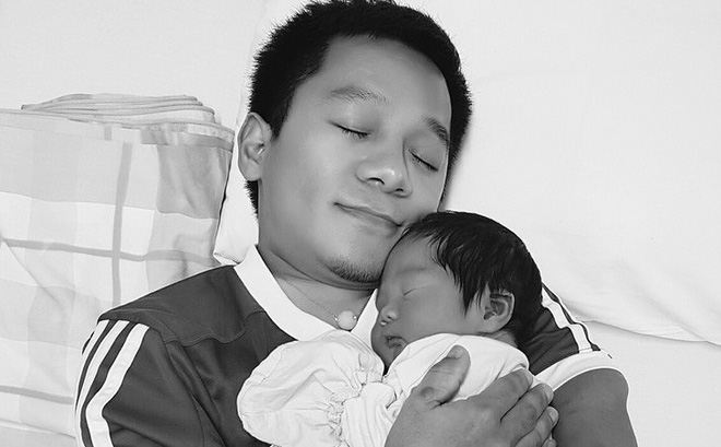 """Diễn giả Nguyễn Sơn Lâm: """"Giây phút đầu bế con, tôi đã xúc động đến phát khóc"""""""