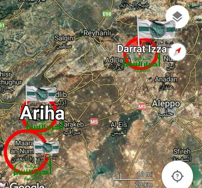 Cuộc chiến một mất một còn ở Idlib, Syria: Khủng bố tự tàn sát nhau đẫm máu - Ảnh 3.
