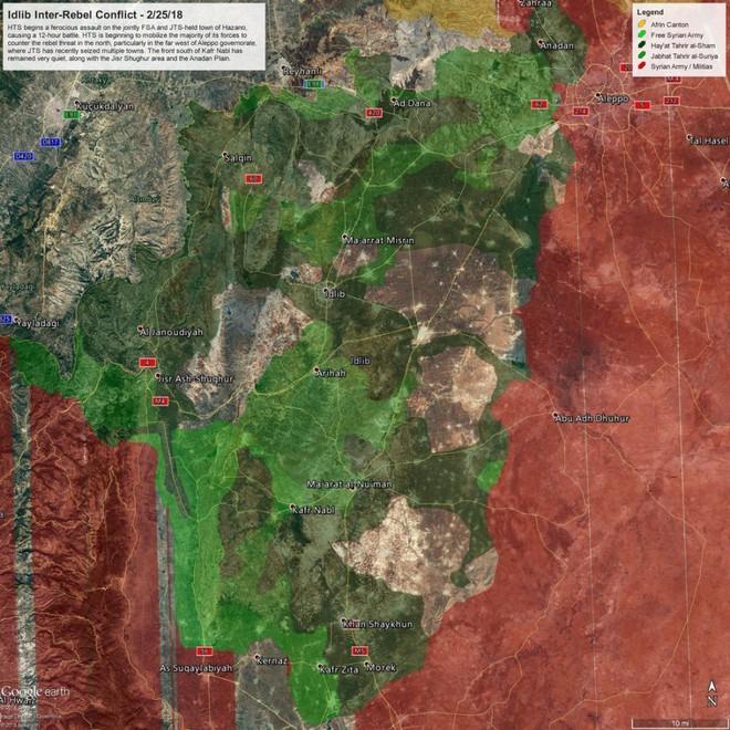 Cuộc chiến một mất một còn ở Idlib, Syria: Khủng bố tự tàn sát nhau đẫm máu - Ảnh 5.