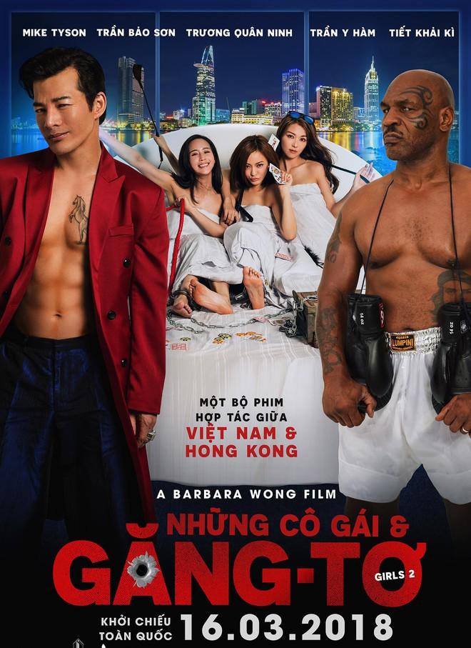 Trailer phim của Trần Bảo Sơn: Nóng với cảnh quay của Mike Tyson và 3 sao nữ châu Á - Ảnh 1.