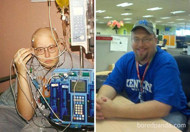 Ngắm 10 bức ảnh có thể truyền cảm hứng mạnh mẽ về bệnh nhân ung thư sau khi chữa khỏi - Ảnh 5.