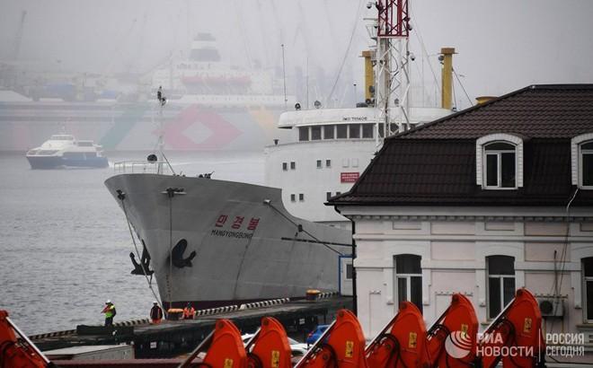 Tàu Triều Tiên bị băng bủa vây, phát tín hiệu khẩn cấp gần Vladivostok