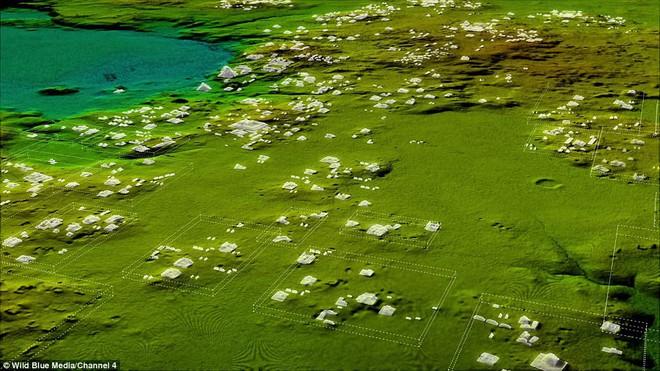 Phát hiện 60.000 kiến trúc bí ẩn của người Maya sâu trong rừng rậm ở Guatemala - Ảnh 1.