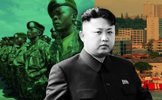 """Triều Tiên bí mật huấn luyện quân sự cho Mozambique, thu bạc tỉ về """"Văn phòng 39""""?"""