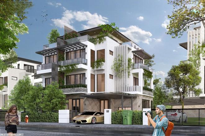 Nét độc đáo trong thiết kế kiến trúc khu đô thị sinh thái - Ảnh 2.