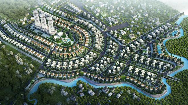 Nét độc đáo trong thiết kế kiến trúc khu đô thị sinh thái - Ảnh 1.