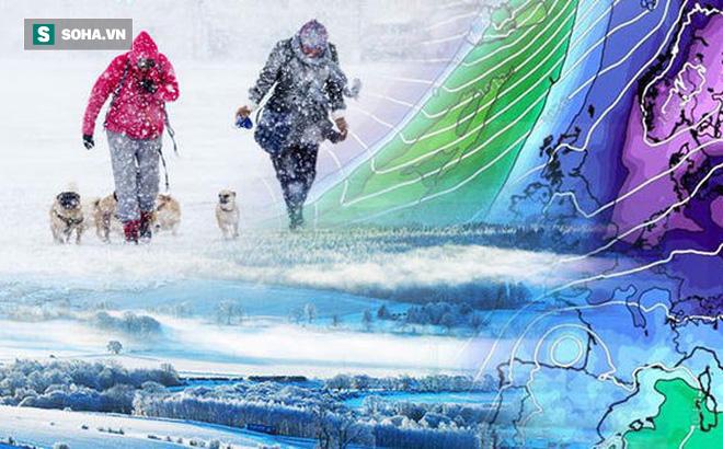 """Nước Anh đối mặt với nguy cơ lạnh nhất trong 6 năm: Met Office đưa ra mức """"cảnh báo vàng"""""""