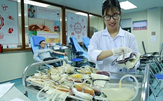 Viện trưởng Viện Huyết học Trung ương: Đủ lượng máu chữa bệnh đến ít nhất 3 tuần sau Tết