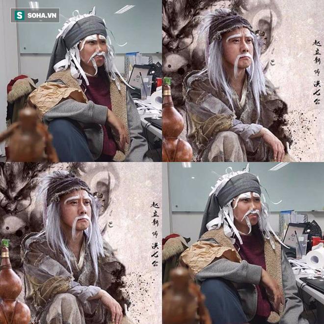 Phiên bản cosplay Hoàng Dung mặt phù nề của cô nhân viên bị cả công ty ngược đãi - Ảnh 8.
