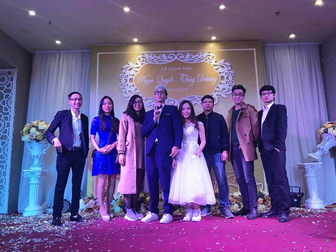 CLIP: Cô dâu mặc váy cưới, xỏ giày thể thao quẩy hip hop tưng bừng trong hôn lễ - Ảnh 3.