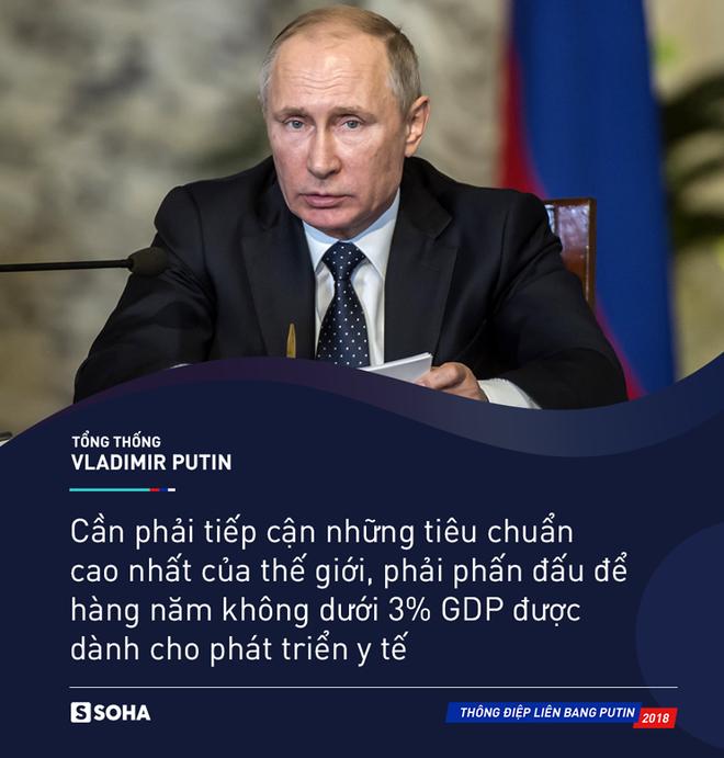 Thông điệp liên bang 2018: Khoe vũ khí tối tân, ông Putin thức tỉnh bất kỳ kẻ xâm lược nào - Ảnh 10.