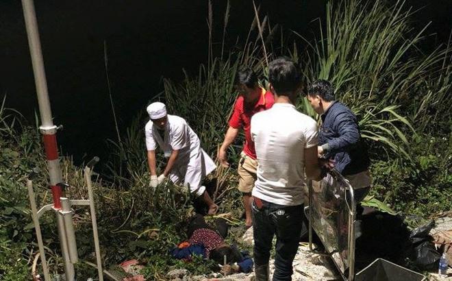 Xe khách lao xuống vực sâu đèo Lò Xo, 20 người thương vong